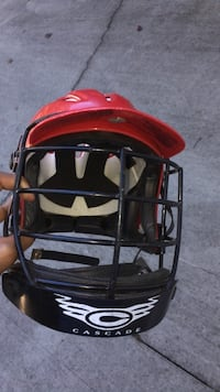 red and black football helmet High Point, 27282