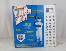 Big League Bullpen Buddy Inflatable by Pitcher's World NO BOX