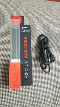 Preo my cable premium aux cable