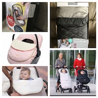 NEW!!! Car seat and stroller covers