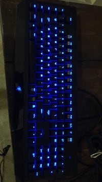 black and blue gaming keyboard Fort George G Meade, 20755