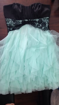 Black and teal dress Winnipeg, R3G 3P8