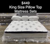 King Size Pillow Top Mattress Sets (New)Delivery & Financing Available Atlanta, 30318