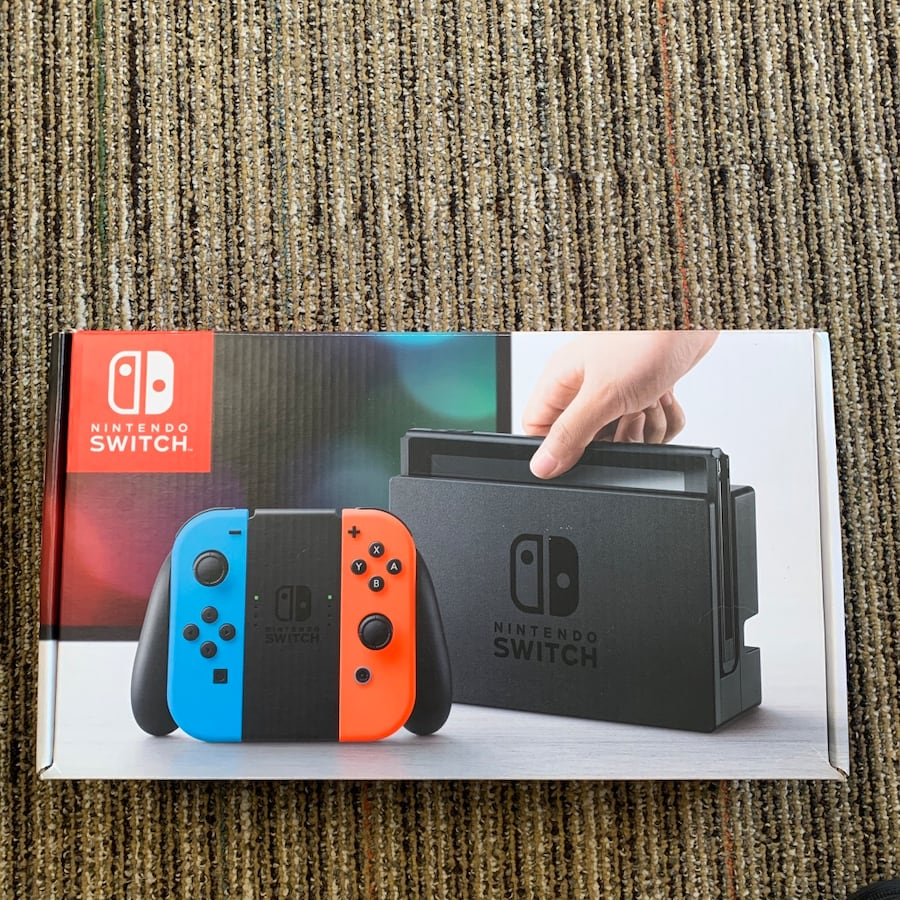 Nintendo switch game system console