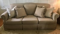 Tan and Black Clayton Marcus Sofa Kansas City, 64113
