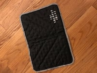 black and gray quilted wristlet West Sacramento, 95691