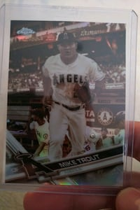 Mike Trout Angels Baseball Card MINT