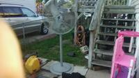 white and gray pedestal fan Beltsville, 20705