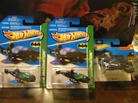 HOT WHEELS BATCOPTER + BATWING DIECAST