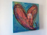 Original absolutely beautiful Heart Painting Mount Juliet, 37122