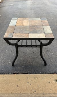 Side table - ceramic tiles