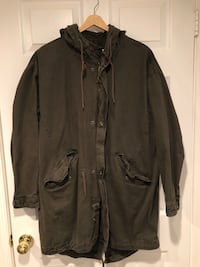 Olive Green Parka Martin's Additions, 20815
