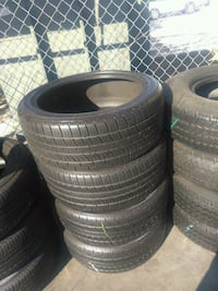 Semi new set of 4 tires 235/45/R20 PIRELLI SCORPIO Buena Park, 90620