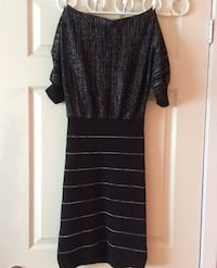 Black and silver mini dress size S/M Toronto, M3K 1Y3