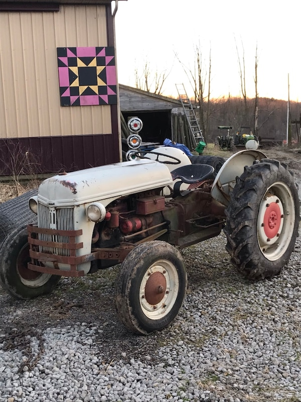 Antique Ford tractor