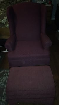 brown fabric sofa chair with ottoman Snellville, 30039