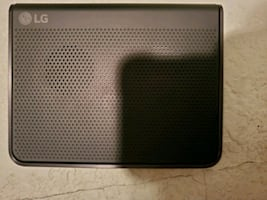 LG Portable charger and speaker