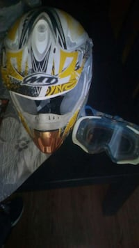 Casco y gafas enduro / crosd Madrid, 28038