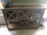 Console buffet 3 barndoor table Ashburn, 20147