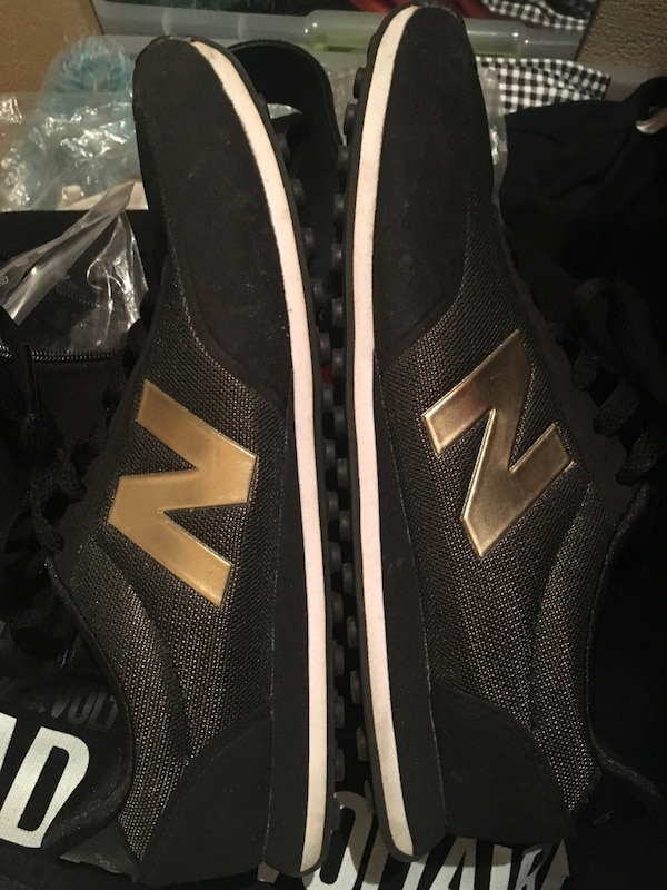 Baskets noir et or New Balance