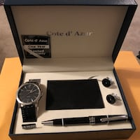 Watch, Pen, Wallet and Cufflinks Gift Set. Great as a holiday gift Silver Spring, 20906