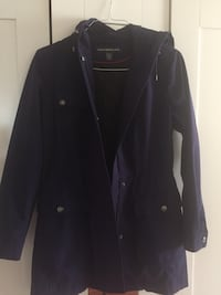 Purple parka/ raincoat size M women's Hayward, 94544