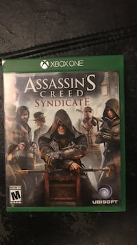 Assassin's Creed Syndicate Xbox One game case Salt Lake City, 84102