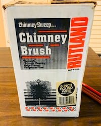 Chimney brush and three extensions Des Moines