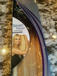 Clip in hair extensions New 100% human Remy hair Burnaby, V5A 4A5