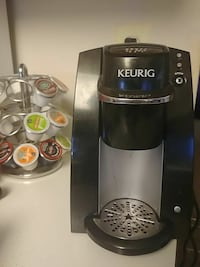 Working keurig with pod holder Frederick, 21703