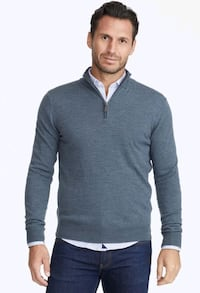 Blue Mock Neck Sweater (Brand New with Tag) Markham, L6G 0C8