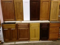 brown wooden cabinet with mirror Boston