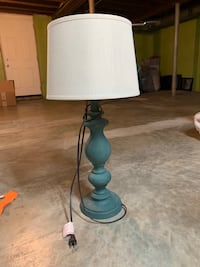 Teal lamp  Louisville, 40202