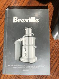 Breville BJE820XL dual disc juice processor Mill Valley, 94941