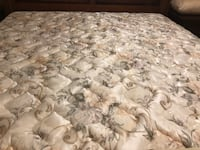 King mattress and box spring in great condition Mississauga, L5M 6A1