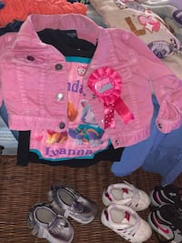Huge Lot of 2T girls clothes coats shoes  Indianapolis, 46259