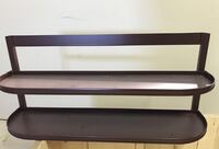 Display shelf. Steel. Excellent condition. $10 St. Catharines