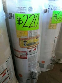 three white General Electric water heaters Los Angeles, 90003