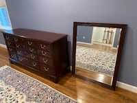 Hi-End Mahogany dresser and mirror BETHESDA