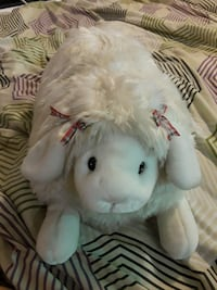 Large Sheep lamb stuffed toy Tulsa, 74112