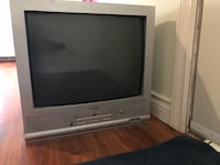 White and gray portable television free, Pick up only as soon as possible,please please Surrey, V3S 2Y3