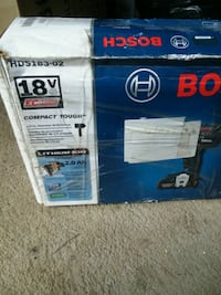 black and blue Bosch power tool box Upper Marlboro, 20772