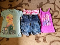 girl's assorted clothes Stockton, 95205