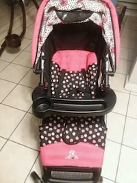 baby's black and pink stroller Ocean Township, 08758