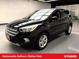 2019 Ford Escape Black hatchback