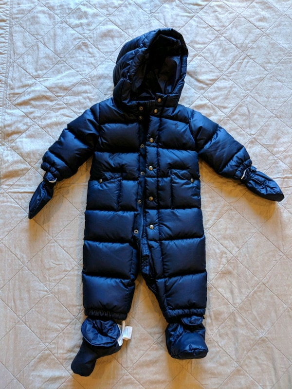 baf9c653 Used Ralph Lauren baby bunting (snowsuit) for sale in Brooklyn - letgo