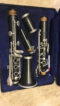 black and grey clarinet in case Grand Chute, 54914