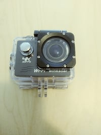 black and gray action camera HOMESTEAD