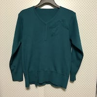 Green sweater with leaves pattern San Francisco, 94116