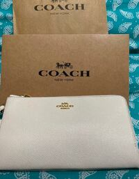Brand New Authentic Coach Wristlet double zipper with tags  Rockville, 20852